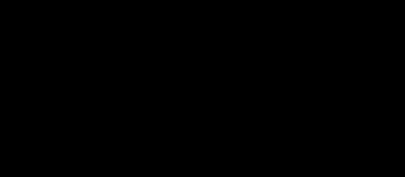 Horn Shape Silhouette