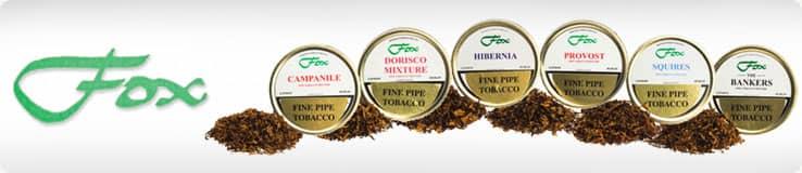 J.J. Fox Pipe Tobacco Tins