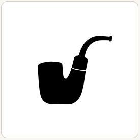 Oom Paul tobacco pipe