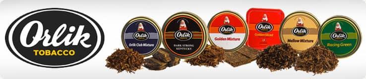 Orlik Pipe Tobacco Tins