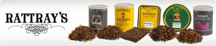 Rattray's Pipe Tobacco Tin