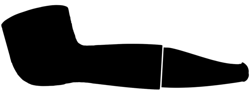 Reverse Calabash Shape Silhouette