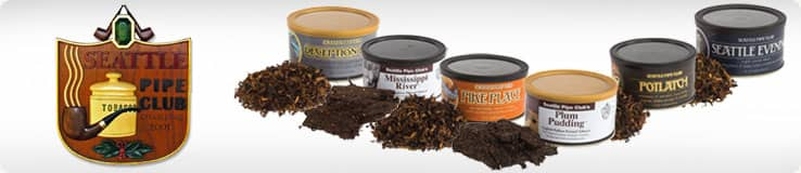 Seattle Pipe Club Pipe Tobacco Tins