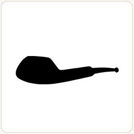 Ukulele tobacco pipe shape