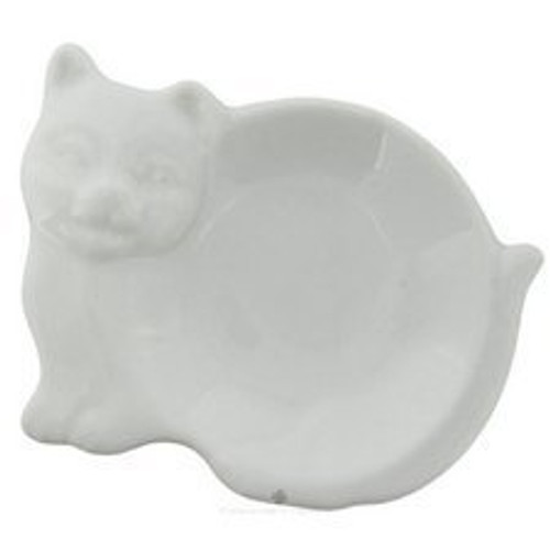 cat design tea bag holder