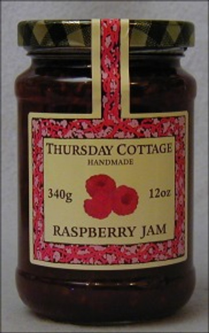 Thursday Cottage Preserves Jams Raspberry 340g jar