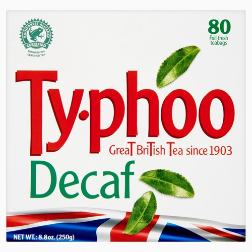 Typhoo Tea Decaffeinated 80 Tea Bags