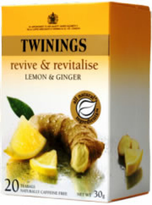 Twinings Infusion Lemon & Ginger 20 tea bags