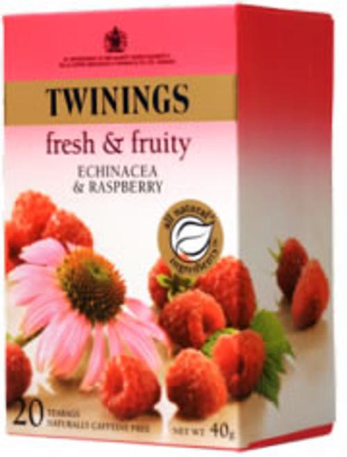 Twinings Infusion Echinacea & Raspberry 20 tea bags