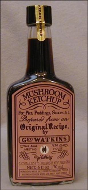 Geo Watkins Mushroom Ketchup Sauce