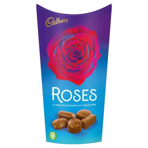 Cadbury Milk Chocolate Roses Carton
