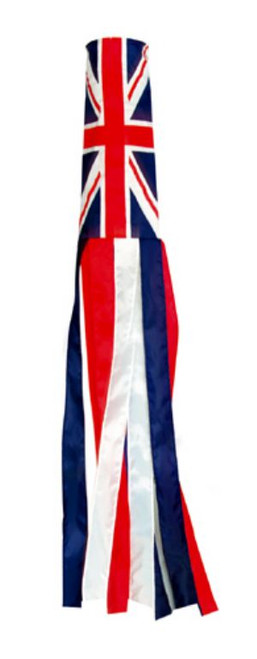 "Union Jack Wind Sock 60"" Long"