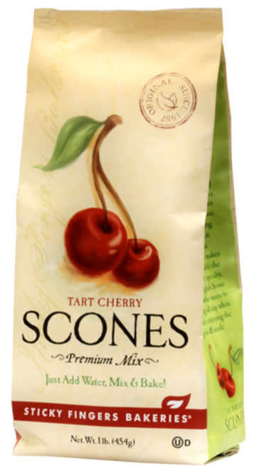 Sticky Fingers English Scone Mix Tart Cherry
