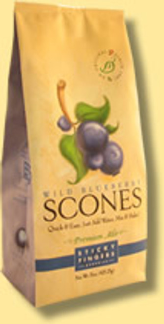 Wild blueberry scone mix from sticky fingers