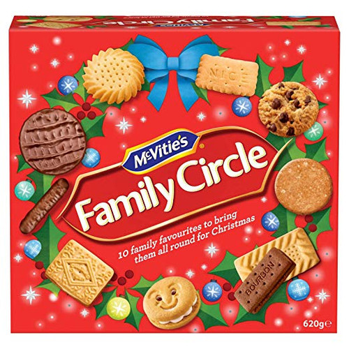 McVities Family Circle Biscuits Box 625g