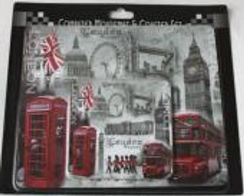 London Scene pack of 4 coasters