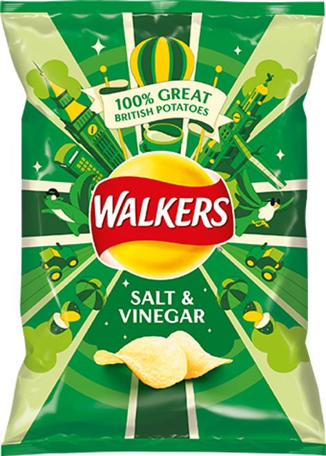 Walkers Salt n Vinegar Crisps