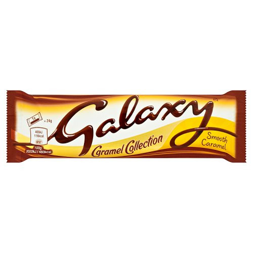 Mars Galaxy smooth milk bar Caramel