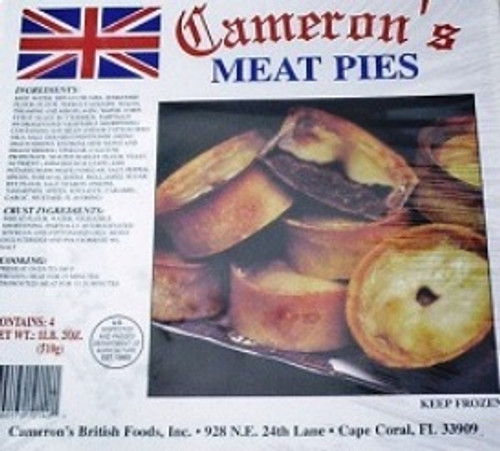 meat pies from camerons