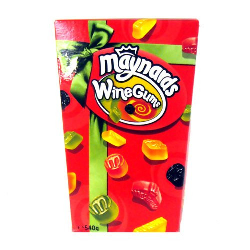 maynards wine gum cartons