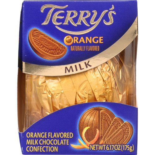 Terrys Milk Chocolate Orange Ball 6.17 Ounce Box