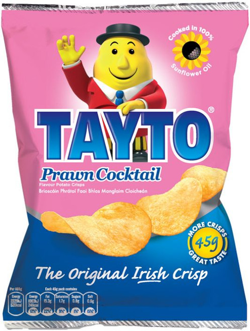 Tayto Prawn Cocktail crisps