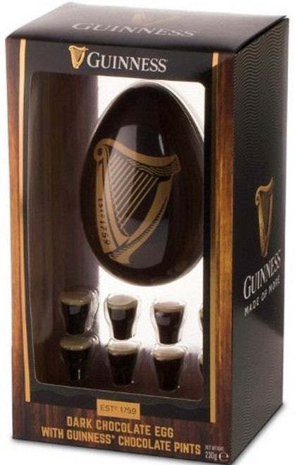 Guinness Dark Chocolate Easter Egg with Truffles