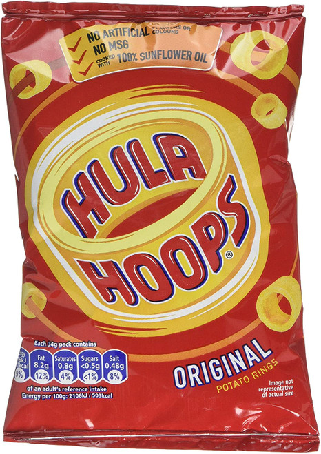 Hula Hoops Original Potato Rings 34 g
