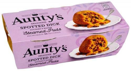 Auntys Spotted Dick Steamed Puddings