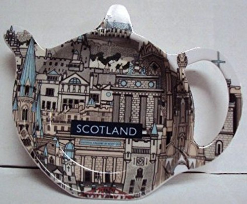 scotland landmarks Tea Caddy