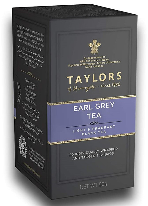 Taylors of Harrogate Earl Grey Tea, 20 Tea Bags