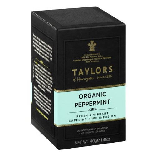 Taylors of Harrogate Organic Peppermint Tea, 20 Tea Bags