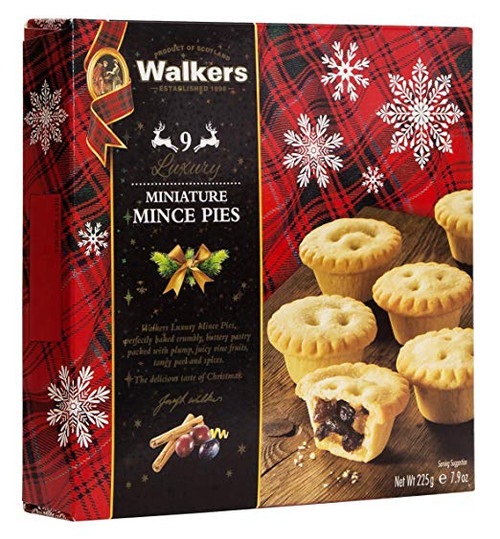 Walkers Mini Mincemeat Tarts