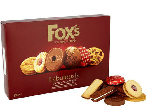 Fox's Fabulously Biscuit Selection Carton 275g