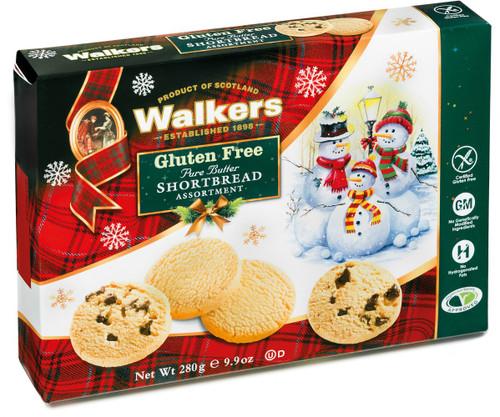 Walkers Shortbread Gluten Free Holiday Assortment 280g