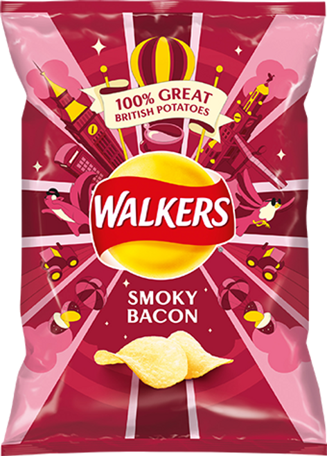 Walker Smokey Bacon Crisp