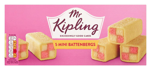 Mr Kipling Battenberg Slices