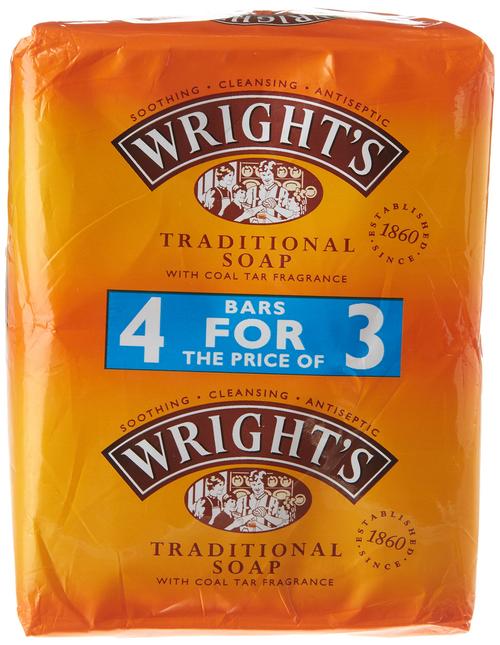 Wright's Coal Tar Soap 4 pack