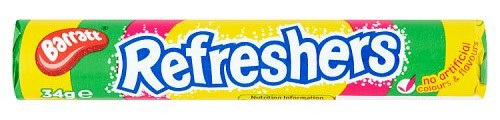 Barratt Candyland Refreshers Fruity Flavour Fizzy Sweets