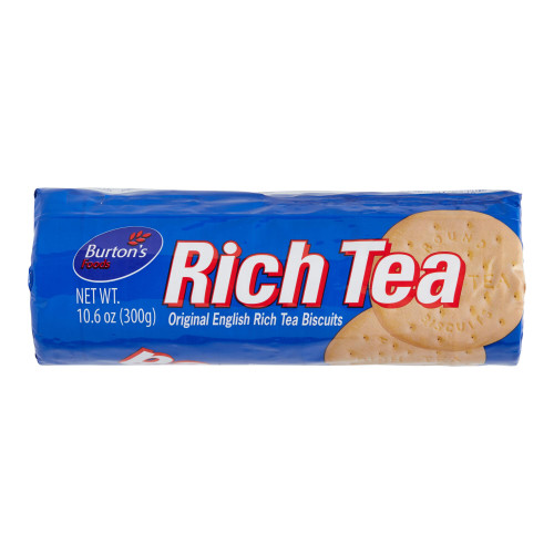 Burton's Rich Tea Original English Rich Tea Biscuits 300g