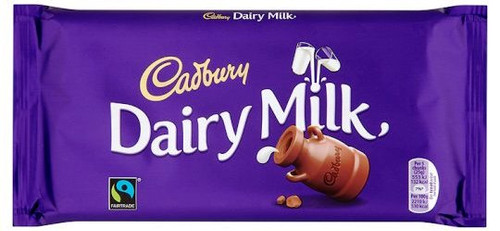 Cadburys Dairy Milk Chocolate bar 110g
