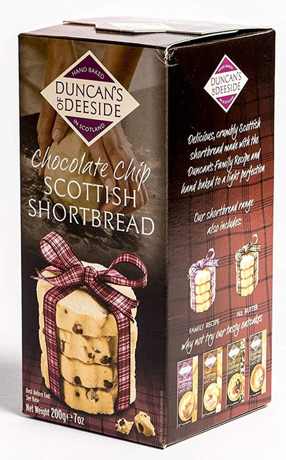 Duncan's of Deeside - Chocolate Chip Scottish Shortbread