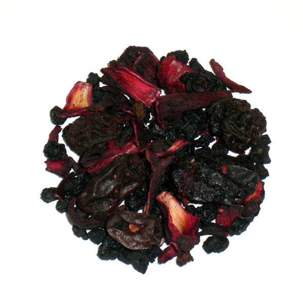 berry fruit cocktail herbal loose tea