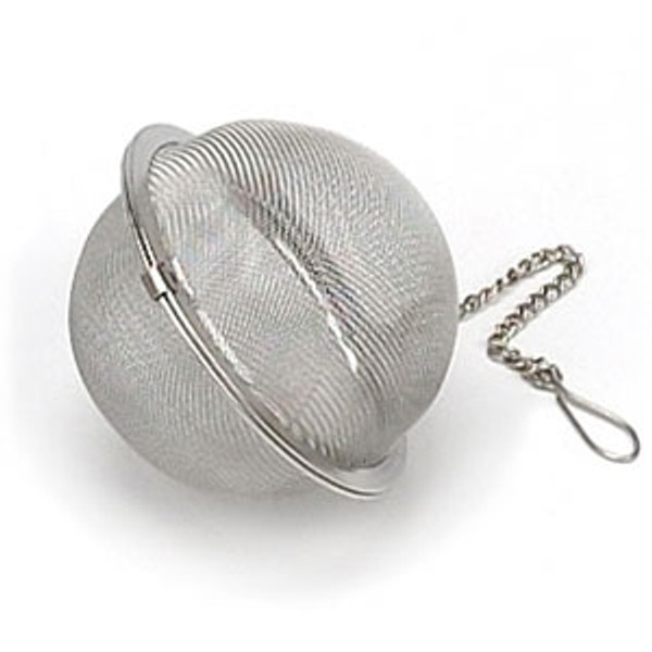 Mesh tea ball 2.5inches with chain