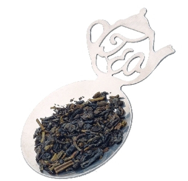 Tea Caddy Spoon for teabags with tea design