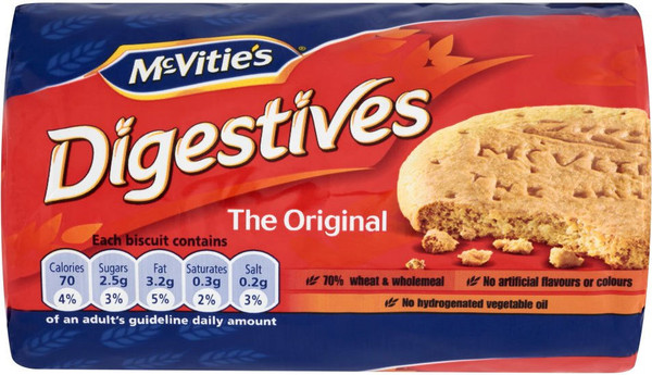 McVities Digestives 250g