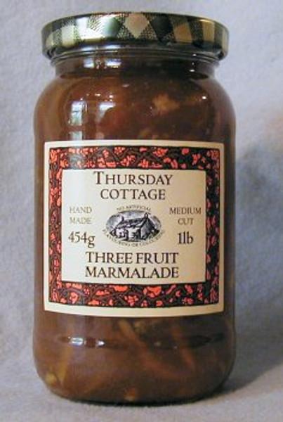 Thursday Cottage Marmalade Three Fruits 454g jar