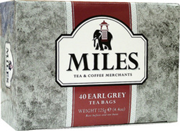 DJ Miles Earl Grey 40 tea bags