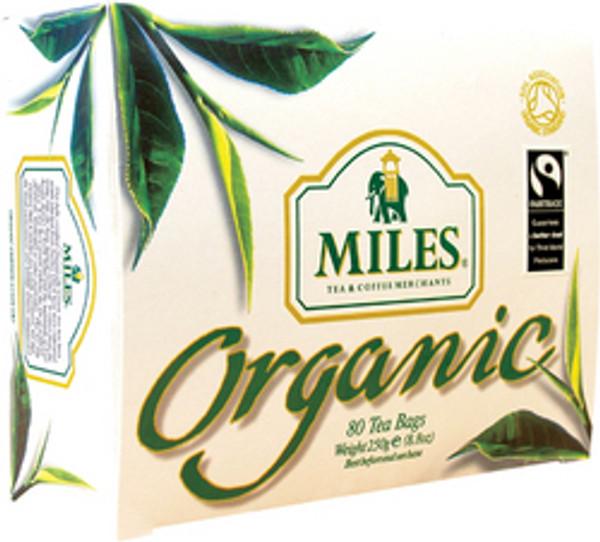 DJ Miles Organic 40 tea bags