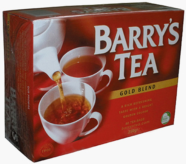 Barry's Tea Gold Blend Tea bags - 80ct